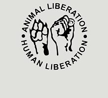 Animal Liberation Human Liberation Unisex T-Shirt