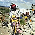The Patchwork Man - Karoo, South Africa by Bev Pascoe