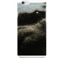 cat paws iPhone Case/Skin