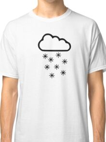 Clouds snow Classic T-Shirt