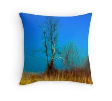 Trees are Poems that Earth Writes Upon the Sky Throw Pillow