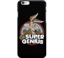 Wile E Coyote Super Genius iPhone Case/Skin