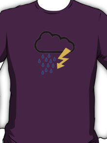 Thunderstorm clouds T-Shirt