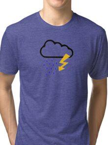 Thunderstorm clouds Tri-blend T-Shirt