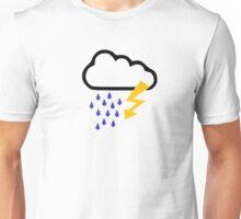 Thunderstorm clouds Unisex T-Shirt