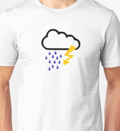 Thunderstorm clouds Unisex T-Shirt