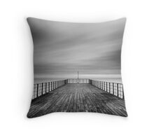 The End Of The Pier Throw Pillow