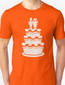 Wedding cake Unisex T-Shirt