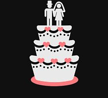 Wedding cake bride groom Unisex T-Shirt