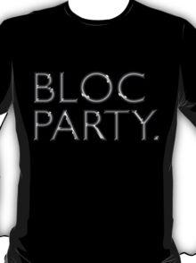 Bloc Party Big Letters T-Shirt