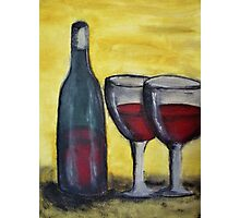 Wine for Two Photographic Print