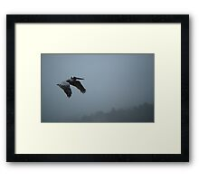 Coastal Mantra Series... Flying Meditation Framed Print
