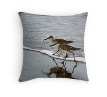Reflect X's Two Throw Pillow