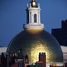 Massachusetts State House Gold Dome by Jonathan Eggers