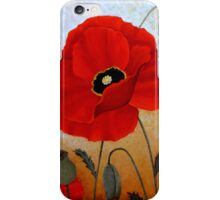 POPPIES I iPhone Case/Skin