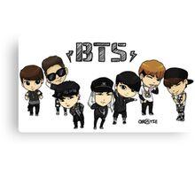 BTS - Bangtan Boys Canvas Print
