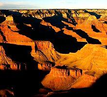 Grand Canyon Sunset by Jeff Blanchard