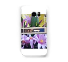 Exit with Grace Samsung Galaxy Case/Skin