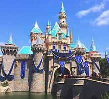 Disneyland's Sleeping Beauty's Castle #9 by alyssas riverbend