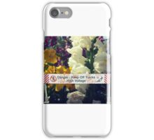 Keep Off with Grace iPhone Case/Skin
