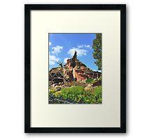 Disneyland's Splash Mountain Framed Print