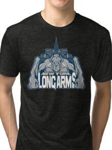 NEW YORK : LONG ARMS Tri-blend T-Shirt