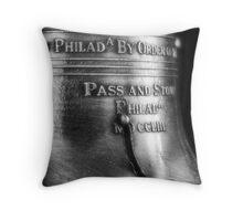 Liberty bell Throw Pillow
