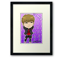 JJCC member SIMBA Framed Print