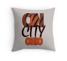 Cin City Ohio Throw Pillow