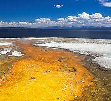 Yellowstone Lake, Wyoming  by Tamas Bakos