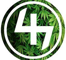 47 (4th and 7th Chakra) Weed Marijuana by Telic
