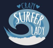 Crazy Surfer Lady by jazzydevil