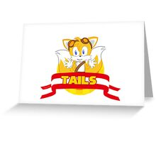 Sonic Boom - Chibi Tails Greeting Card