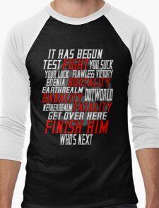 mortal kombat x  Men's Baseball ¾ T-Shirt