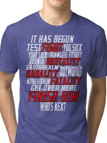 mortal kombat x  Tri-blend T-Shirt