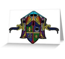 Heraldry Greeting Card