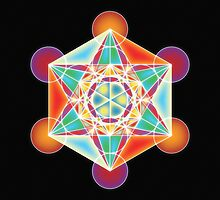 Metatron's Cube - Vibration of Love by Robyn Scafone