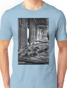 Monochrome Under the Pier Unisex T-Shirt