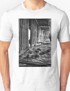 Monochrome Under the Pier T-Shirt