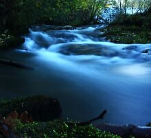 Life's a fast flowing River by RunnersArtworks