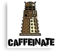 Iskybibblle Products /Dalek Coffee Canvas Print