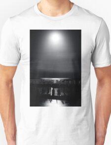 Full Moon Over Bramble Bay T-Shirt