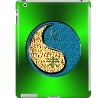 Leo & Goat Yin Water iPad Case/Skin