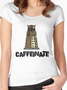 Iskybibblle Products /Dalek Coffee Women's Fitted Scoop T-Shirt