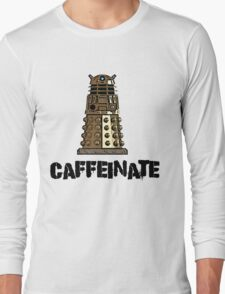Iskybibblle Products /Dalek Coffee Long Sleeve T-Shirt