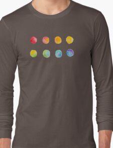 Color Progression Long Sleeve T-Shirt
