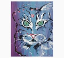 Turquoise Eyes Cat - Animal Art by Valentina Miletic Kids Clothes