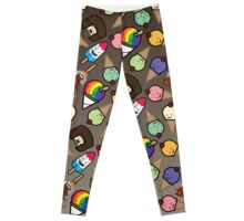 Ombre Chocolate Frosy Treats Leggings