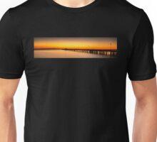 Shorncliffe Pier Silhouette Unisex T-Shirt
