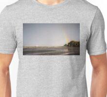 Pier Under the Rainbow Unisex T-Shirt